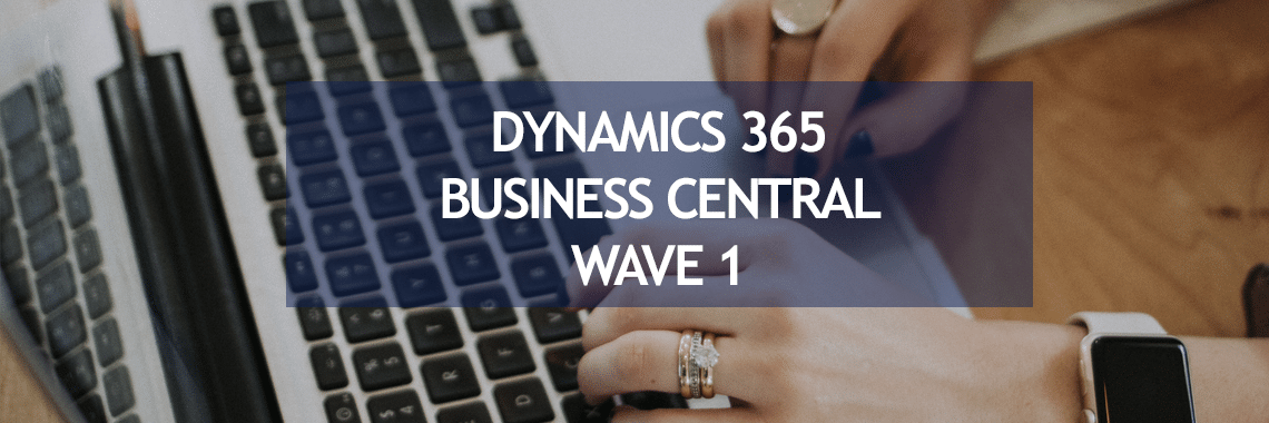 Demo Dynamics 365 Business Central actualización abril 2020